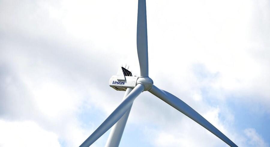 Vestas vindmølle i Østerild