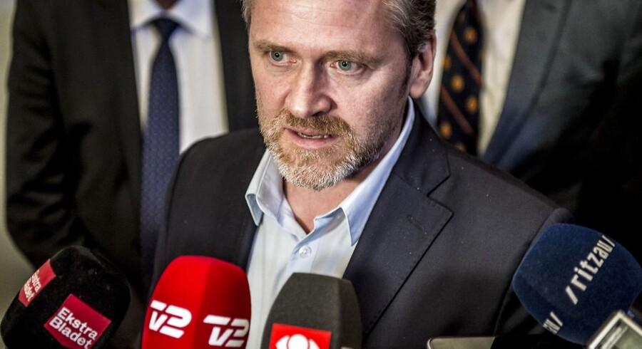 Liberal Alliance bør forlade regeringen, fordi partiet ikke får sin politik igennem, mener mange lokalformænd. (Foto: Mads Claus Rasmussen/Scanpix 2018)