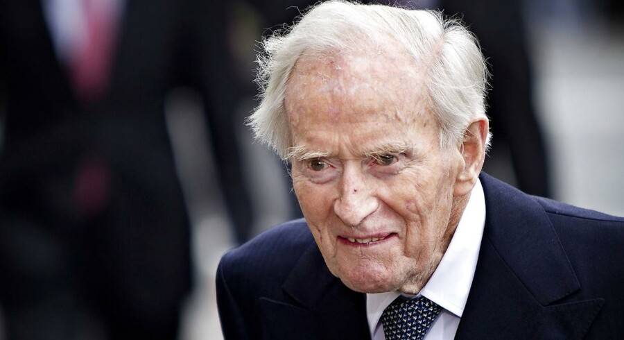 Mærsk Mc-Kinney Møller døde i 2012 i en alder af 98 år.
