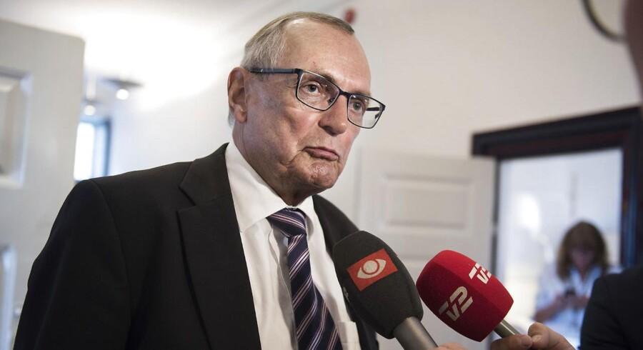 Bent Hansen foreslår lukninger af regionshuse, inden han stopper (Foto: Liselotte Sabroe/Scanpix 2017)