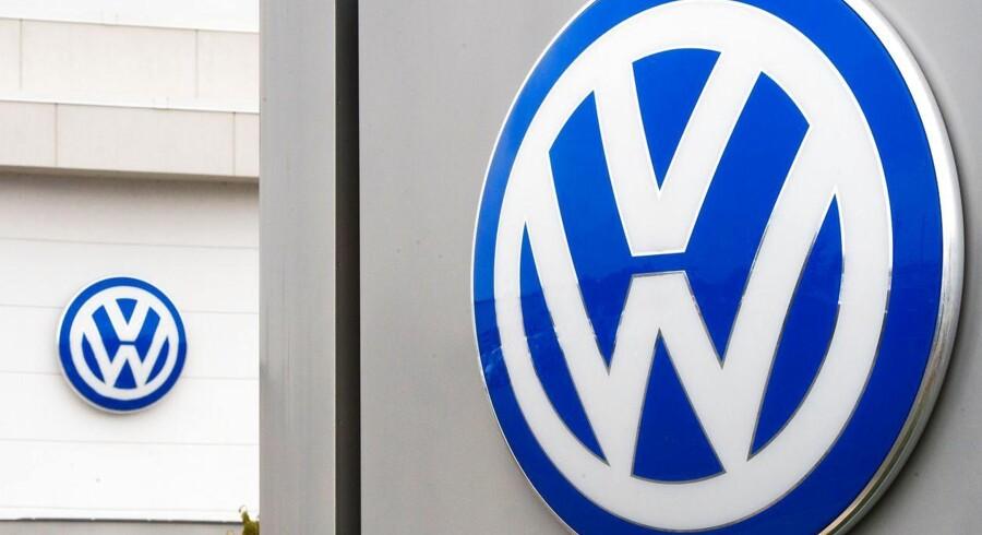 Volkswagen præsenterer rekordsalg trods »Diesel-gate«. Arkivfoto.