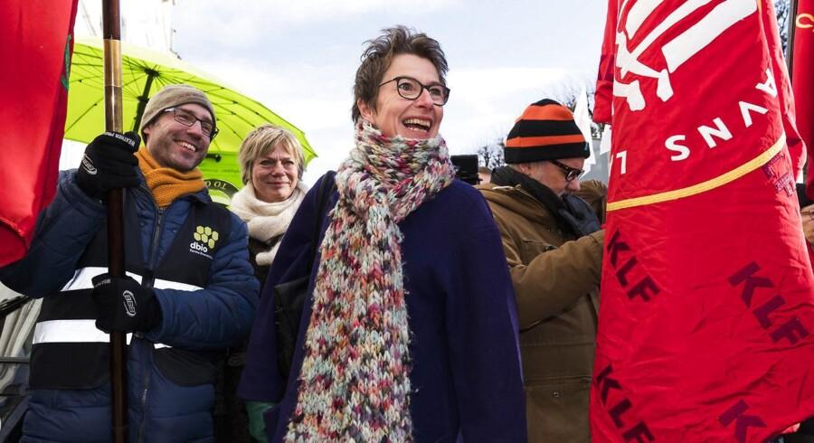 Den varslede lockout af offentligt ansatte er så massiv, at Grete Christensen forudser hurtigt regeringsindgreb.