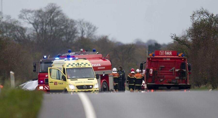 183 cyklister, fodgængere, motorcyklister og bilister omkom i en trafikken sidste år. Det er færre end i 2016.