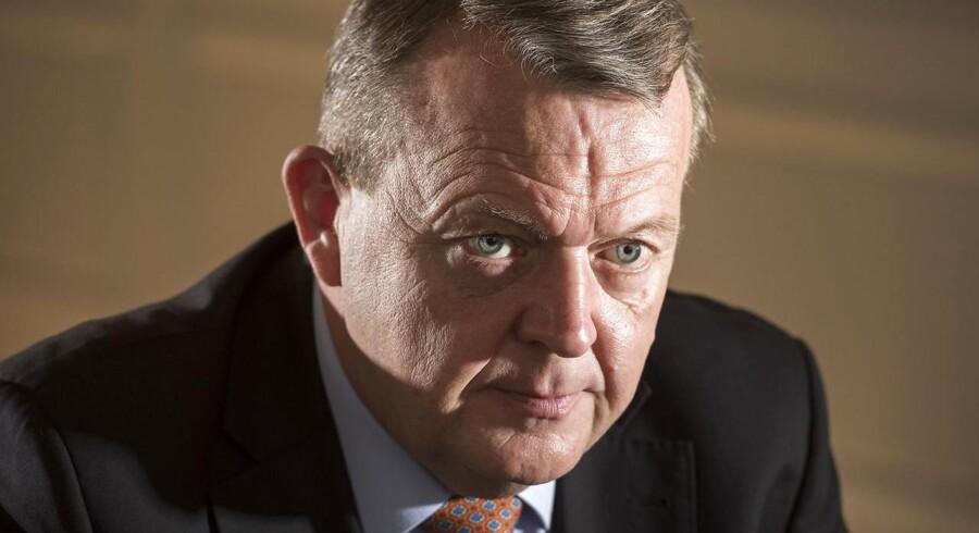 Arkivfoto:Lars Løkke Rasmussen.