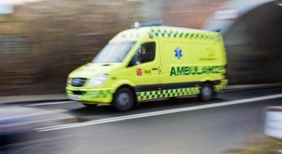 Arkivfoto: En ung mistede mandag aften livet i en trafikulykke på Frederiksundsmotorvejen.