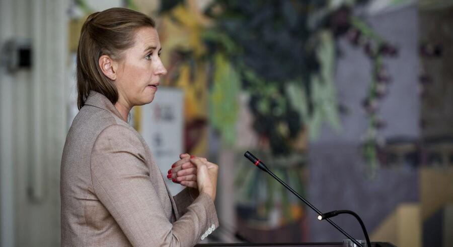 Socialdemokratiets formand, Mette Frederiksen, har mandag meldt ud, at partiet er klar til at afskaffe produktivitetskravet allerede fra næste år.
