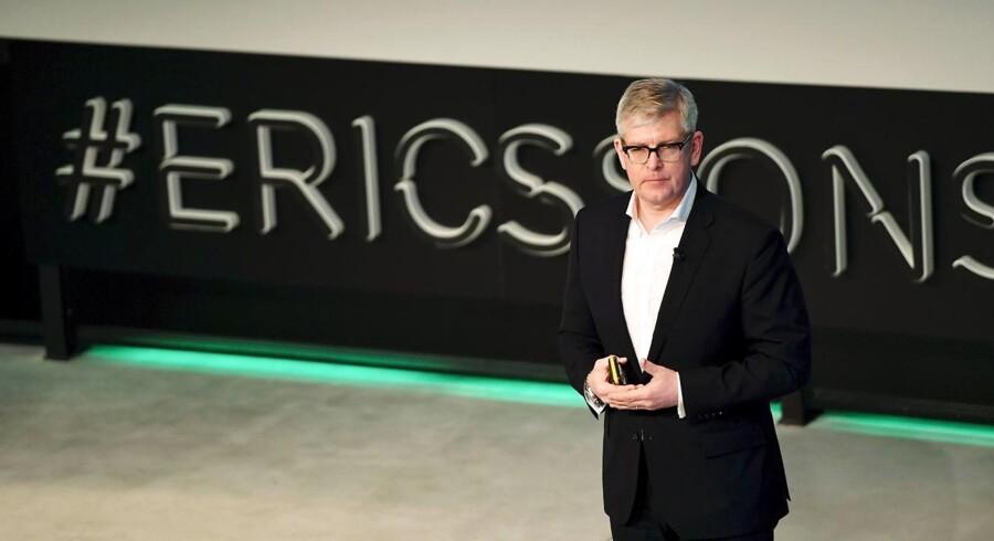 Ericssons nye topchef, Börje Ekholm, får nu en aktiv medejer at skulle leve op til. Arkivfoto: Pontus Lundahl, TT/Scanpix