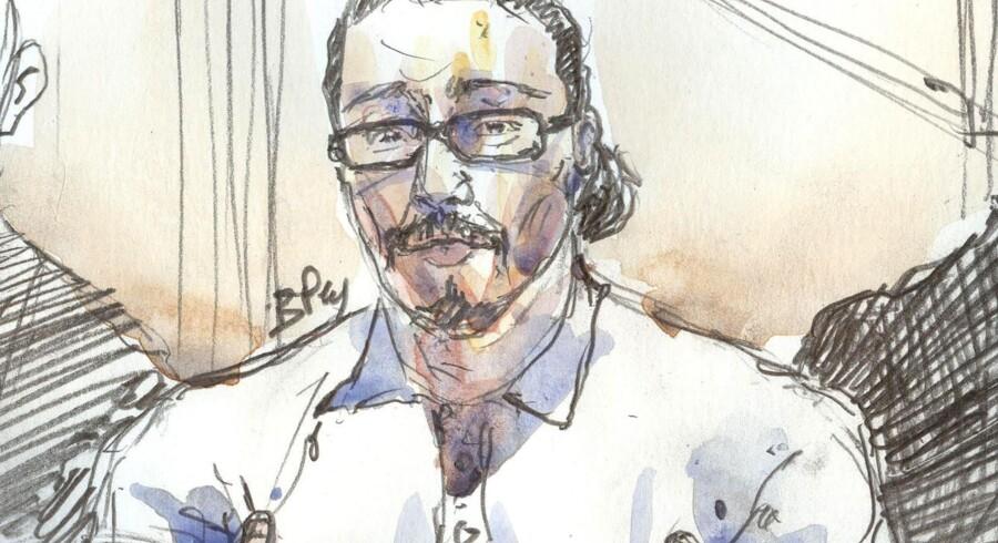 Jawad Bendaoud, som var tiltalt for at huse jihadister bag angrebene i Paris i november 2015, er blevet frifundet ved en domstol i Paris. Scanpix/Benoit Peyrucq