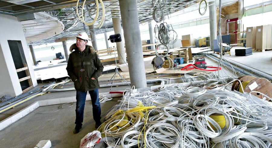 Det er primært fiberforretningen, som skal drive fremgangen for Sydenergi/SE, vurderer analytiker. Her ses direktør i Sydenergi/SE, Niels Duedahl.