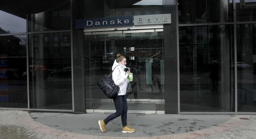 Danske bank's building at Narva maantee 11 in Tallinn, Estonia 25 March 2017. EPA/VALDA KALNINA