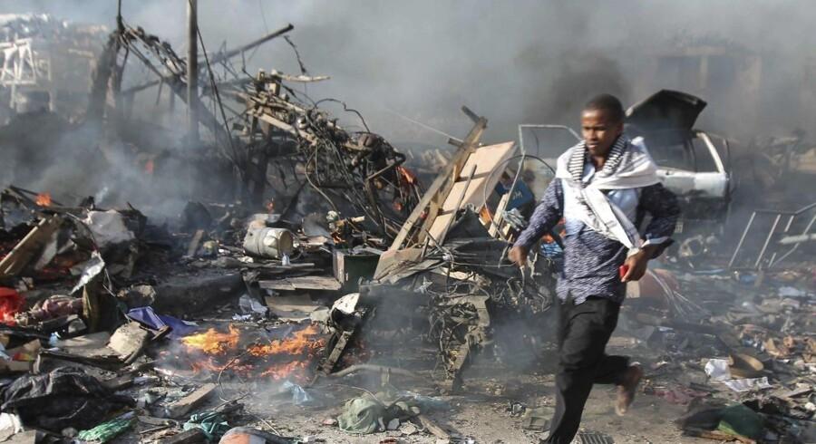 Arkivbillede fra Somalia.
