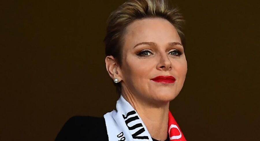 Fyrstinde Charlene har tvillinger med Monacos fyrst Albert. Scanpix/Franck Fife