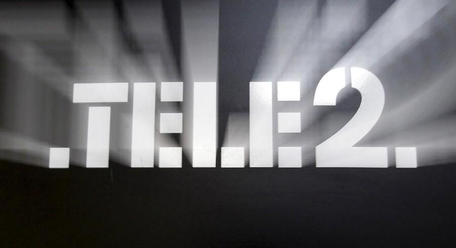 Det svenske telefirma Tele2 overrasker positivt i fjerde kvartal. REUTERS/Alexander Demianchuk/Files