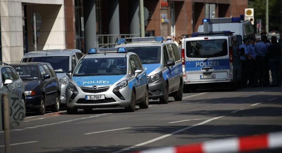 Arkivfoto. Ni personer er blevet anholdt på forskellige adresser i Berlin.