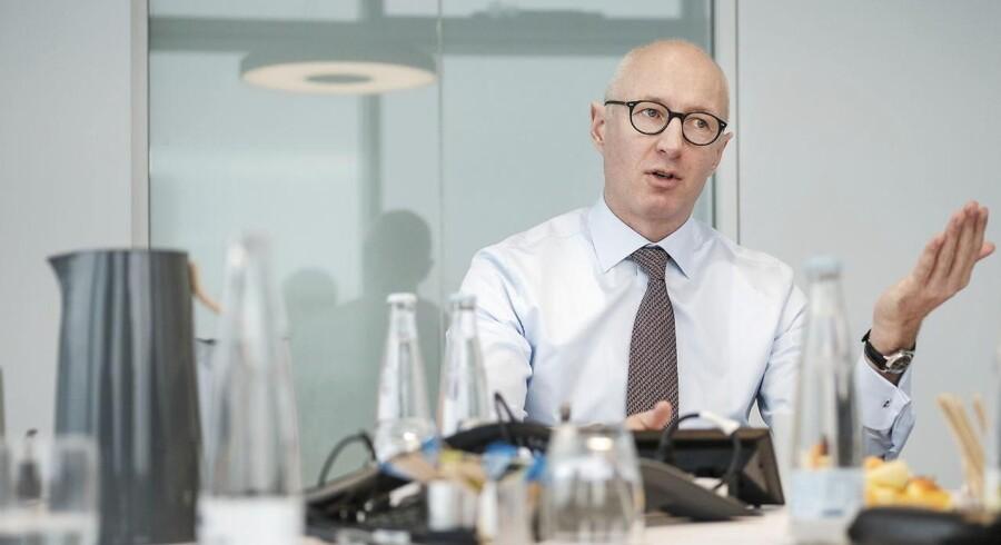 Novo-topchef Lars Fruergaard Jørgensen ser også fordele i, at det danske selskab har fået skærpet konkurrence på det lukrative GLP-1-marked.