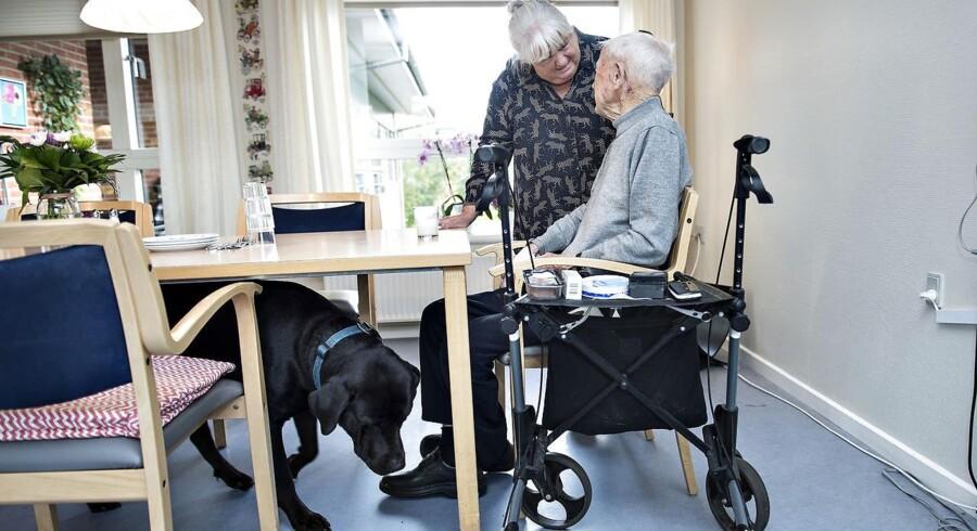Bl.a. ældreplejen bliver prioriteret på finansloven for 2018.
