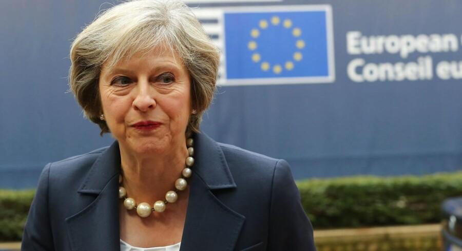 Arkivfoto: Den britiske High Court afgjorde forleden at premierminister Theresa May ikke kan indlede forhandlingerne om at forlade EU uden om landets parlament.