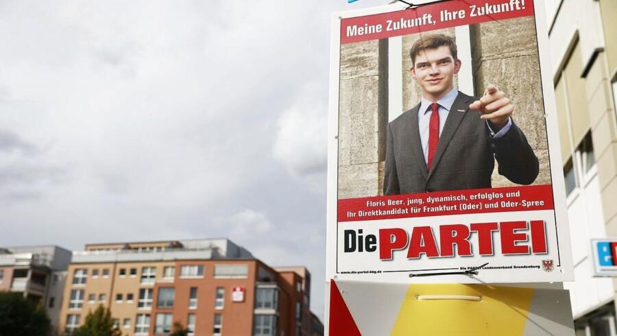 En af Die Parteis valgplakater.