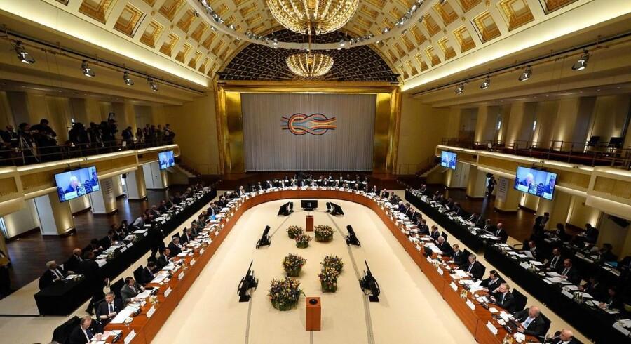 Billede fra G20-mødet.