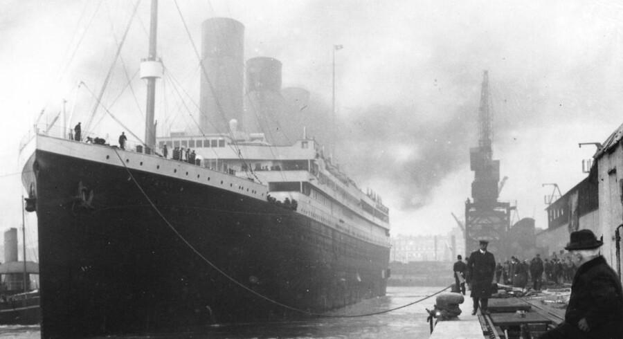 Arkivfoto: Premier Exhibitions er på økonomisk dybt vand og vil derfor sælge ud af sin enorme samling af Titanic-ting.