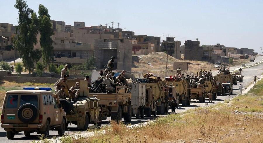 »Tal Afar vil blive befriet. Den vil blive slået sammen med alle de andre befriede byer,« siger Iraks premierminister, Haider al-Abadi, i en tv-tale.