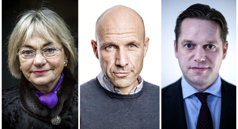 Foto: Bax Lindhardt, Ida Guldbæk Arentsen og Thomas Lekfeldt.