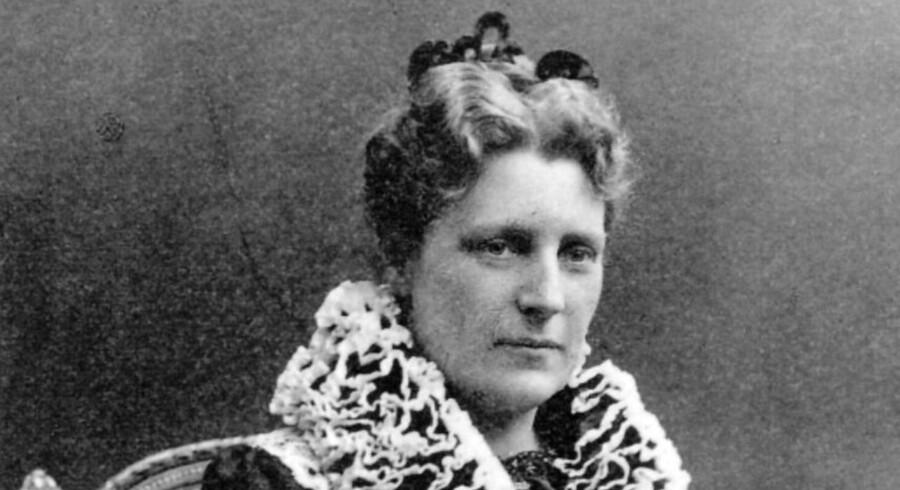 Emma Gad, forfatter. 1852-1921. (Udateret arkivbillede)