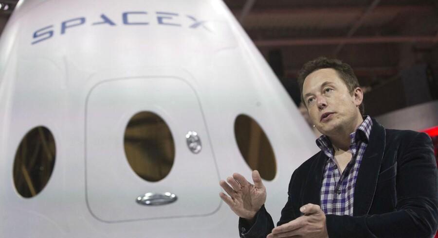 SpaceX topchef og Tesla-stifter Elon Musk. Foto: Mario Anzouni