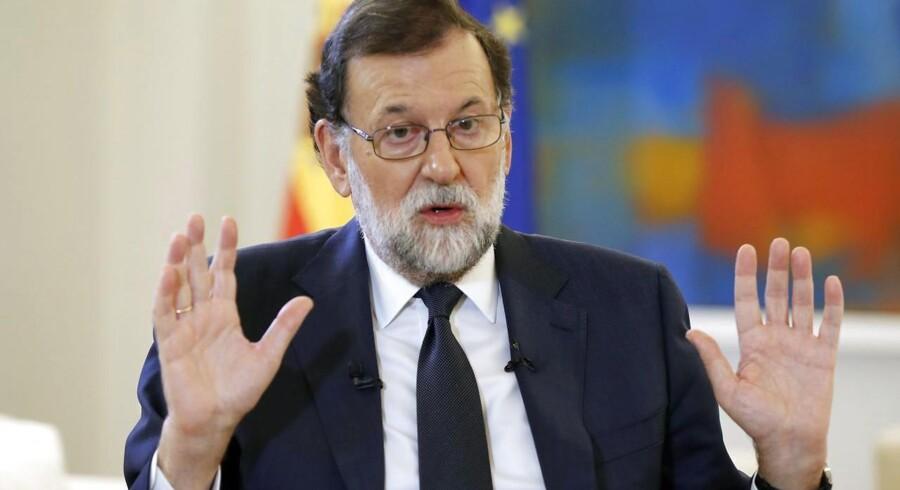 Arkivfoto. Catalansk præsident har underskrevet en uafhængighedserklæring, og den spanske regering er indkaldt til møde.