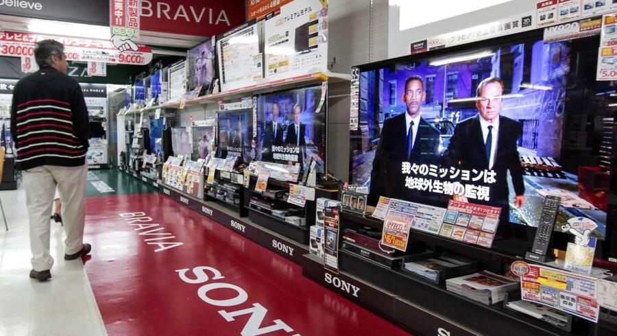 YouTube forsvinder fra 50 af Sonys Bravia-TV-modeller med udgangen af september. Arkivfoto: Kimimasa Mayama, EPA/Scanpix