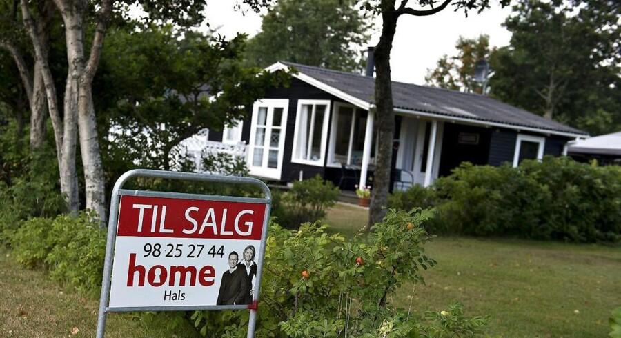 Arkivfoto. Sommerhusene i den sydlige del af Jylland er faldet mindst i værdi siden finanskrisen, viser analyse.