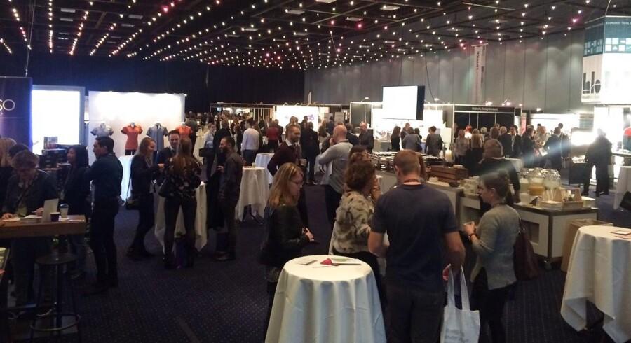 På årets konference for IKA – foreningen af offentlige indkøbere udloddede blandt andre IT-firmaet KMD gavekurve til konferencedeltagerne.
