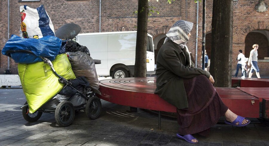 Romaer i København. Foto: Sofie Mathiassen