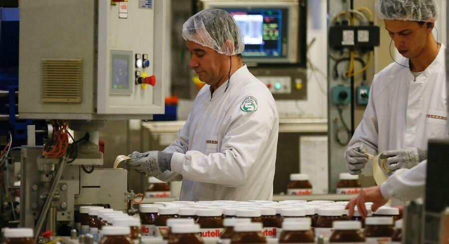 Ferrero ligger lunt i svinget til at udvide chokolade-imperiet / AFP PHOTO / CHARLY TRIBALLEAU