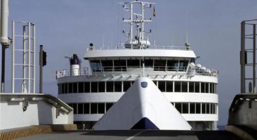 En trussel har onsdag ført til, at Scandlines har indstillet færgesejladsen til både Tyskland og Sverige. Free/Scandlines