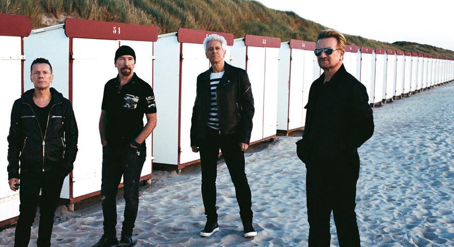 U2 er klar med deres 14. album, »Songs Of Experience«. Fotografen Anton Corbijn har igen skudt billederne.