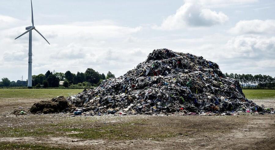 Arkivfoto. Dette års affaldsindsamling har fået fjernet 154.875 kilo affald fra naturen. Blandt andet over 100.000 dåser.