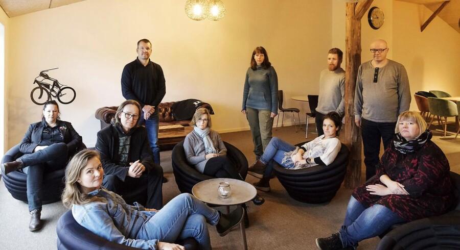 13 ud af 19 børn er blevet trukket ud af en 6. klasse på Sdr. Jernløse Lilleskole på Midtsjælland, efter ledelsen truede med at smide tre børn ud af klasse. Søndag den 26. november 2017.