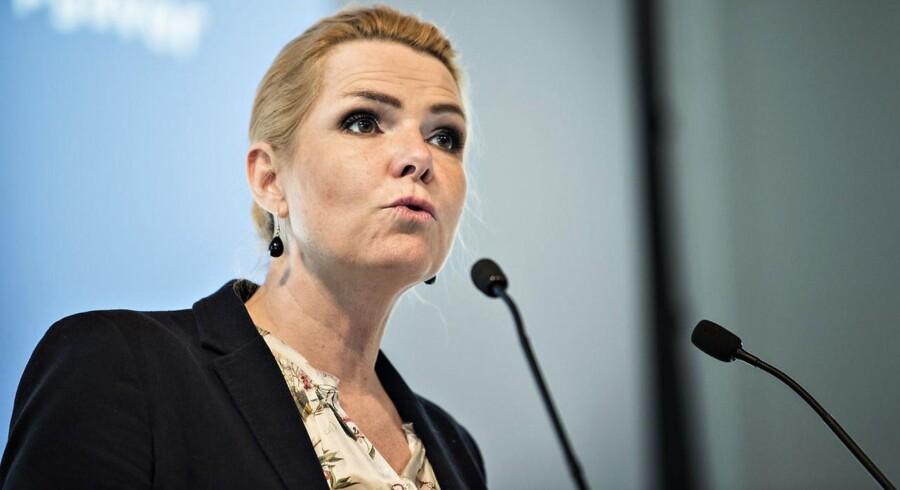 Arkivfoto. »Jeg ser slet ikke basis for at lave en aftale af denne karakter. Selvfølgelig skal vi i Venstre heller ikke lade vores handlefrihed deponere hos socialdemokraterne,« siger udlændinge- og integrationsminister Inger Støjberg (V).