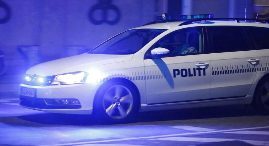 En 23-årig spritbilist i en stjålen Audi kørte 132 km/t langs Amager Boulevard før politiet fik indhentet og standset ham.