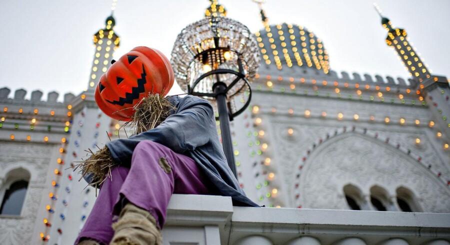 Halloween i Tivoli, her fotograferet onsdag d. 7. oktober 2015. (Foto: Bax Lindhardt/Scanpix 2015)