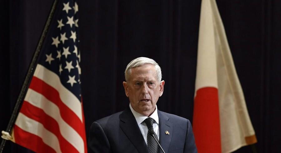 USAs forsvarsminister James Mattis.