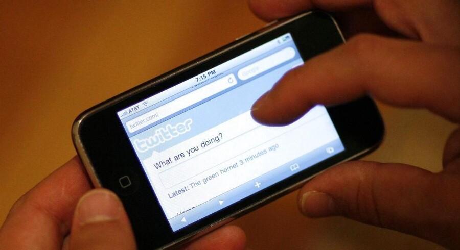 Apple har købt Twitter-analysefirmaet Topsy for at komme tættere på de sociale medier. Arkivfoto: Mario Anzuoni, Reuters/Scanpix
