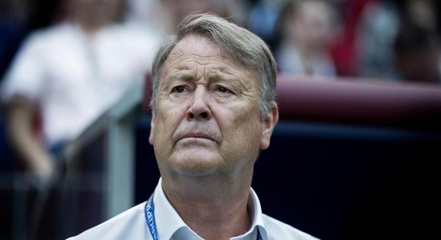 Landstræner Åge Hareide.
