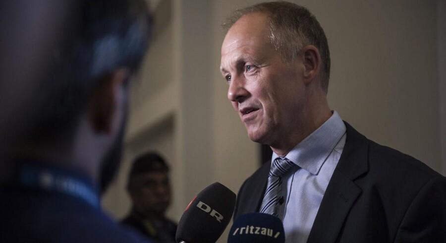 Arkivfoto: Det tegner til at blive en socialdemokrat, der afløser Venstre-manden Martin Damm som formand for Kommunernes Landsforening (KL).
