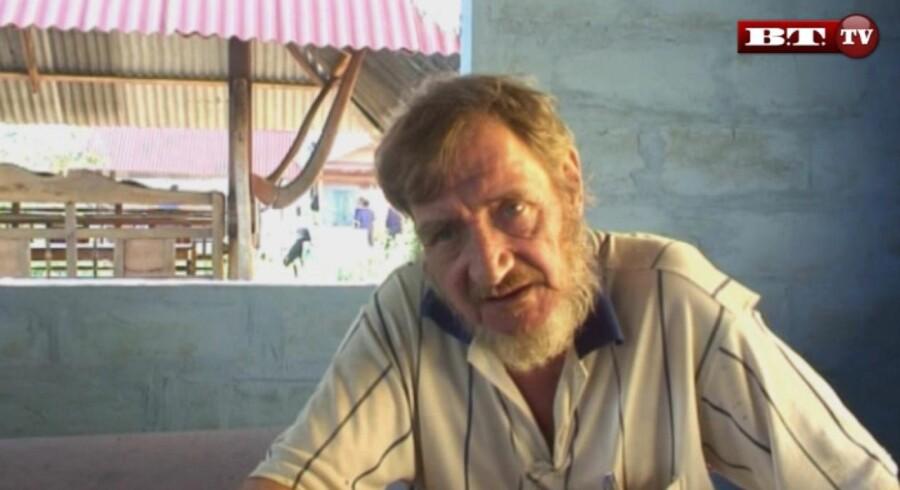 Svend Erick Jonasson blev i 2010 dømt for rufferi og sexovergreb. Nu bliver han benådet af kongen. Foto: Ritzau tv