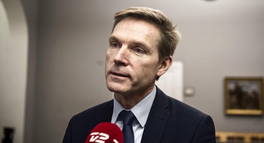 Arkivfoto: DF-formand Kristian Thulesen Dahl falder ikke bag over af begejstring, fordi Henrik Sass Larsen (S) i sin 1. maj-tale siger, at Danmark bør indføre den australske asylpolitik.