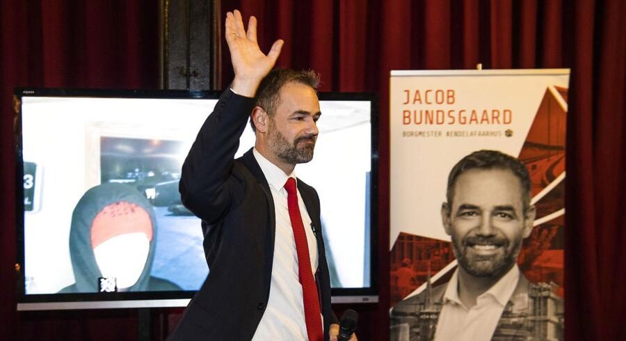 Aarhus-borgmester Jacob Bundsgaard melder sig klar til at overtage kommunal toppost efter Venstre-mand. (Foto: Bo Amstrup/Scanpix 2017)