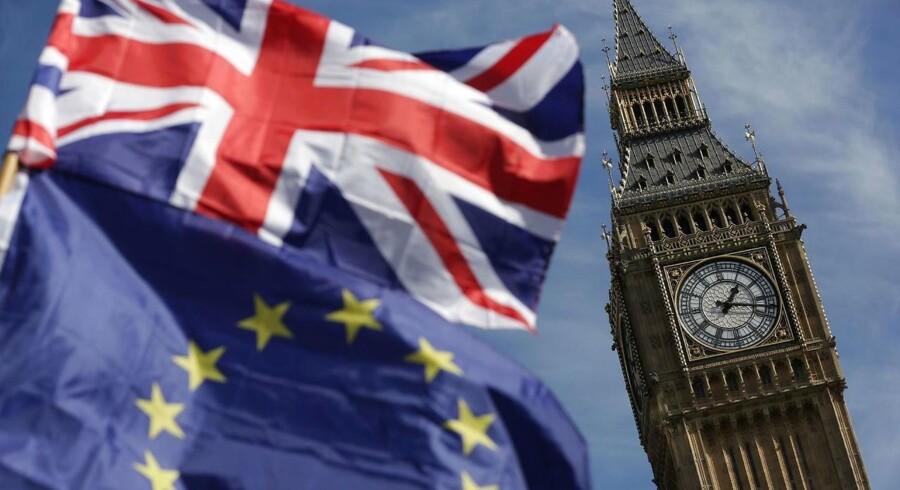 Arkivfoto. Revisionsselskabet KPMG advarer om, at en række britiske selskaber ikke i tilstrækkelig grad tager højde for risici ved brexit.