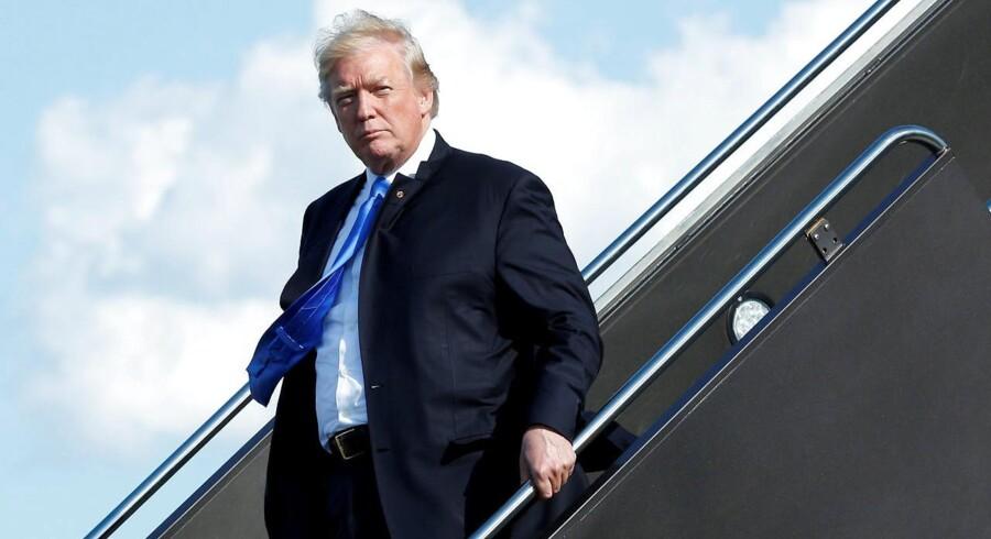 Præsidenten skal ifølge statsadvokaterne have overtrådt antikorruptionsparagraffer i den amerikanske forfatning.